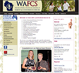 Graphic of WAFCS with link to website.